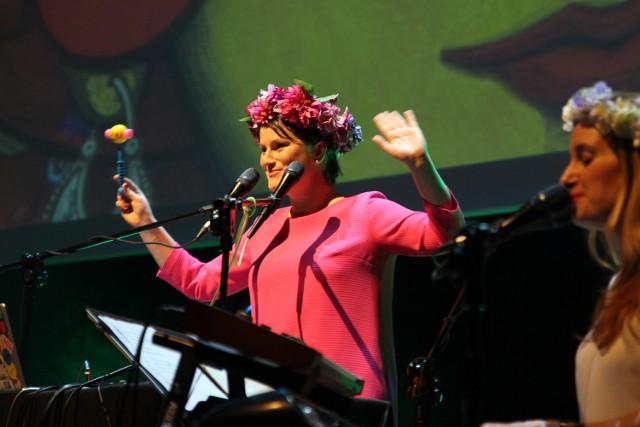 Wśród uczestników panelu dotyczącego otwartości Poznania na muzykę była współzałożycielka grupy DagaDana Dagmara Gregorowicz.