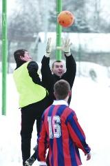 Piłka nożna: Podlaskie sparingi (zdjęcia)
