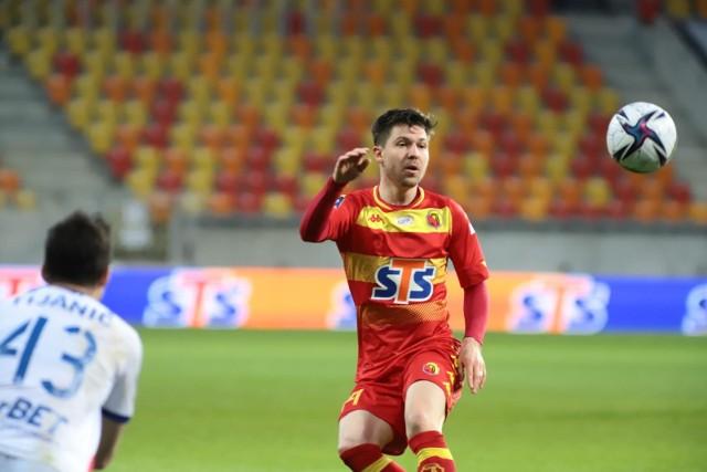 Jagiellonia Białystok tylko zremisowała 1:1 sparingowy mecz z Wigrami Suwałki