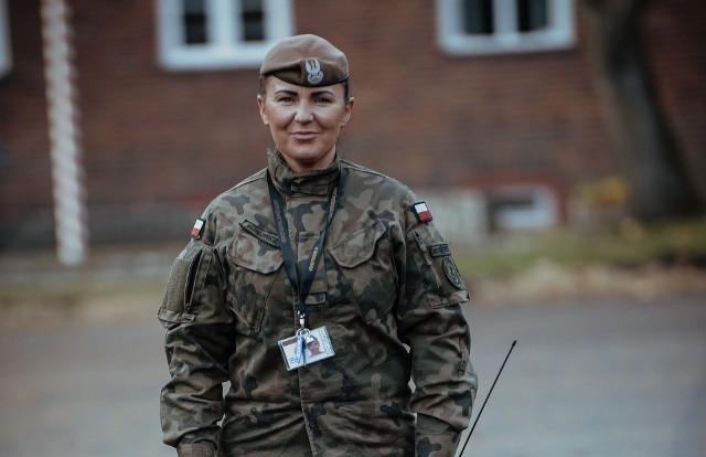 szer. Paulina Susłowicz - 12 Wielkopolska Brygada Obrony Terytorialnej