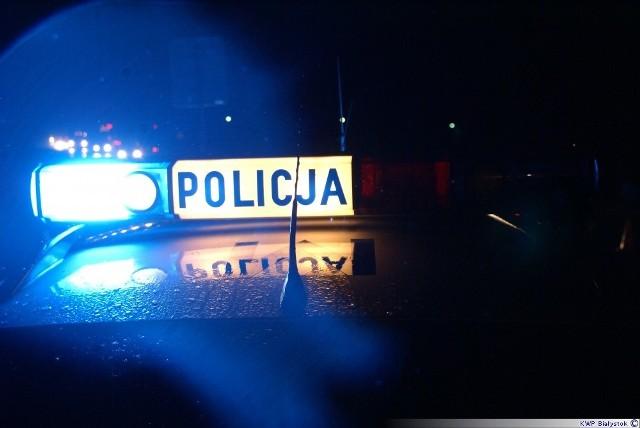 Policjanci wyciągnęli z rowu przy Cedrowej dwóch podpitych mężczyzn
