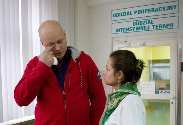 Grzegorz i Katarzyna walczą o swoje dziecko. Zanim lekarze w Uniwersyteckim Dziecięcym Szpitalu Klinicznym zdiagnozowali u Bolka białaczkę mózg dziecka obumarł