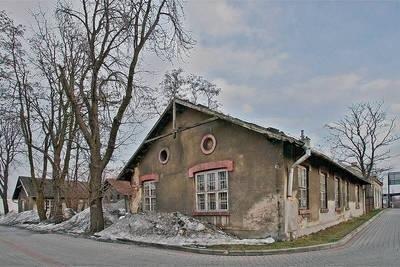 Budynek koszar powstał w 1888 roku Fot. Anna Kaczmarz