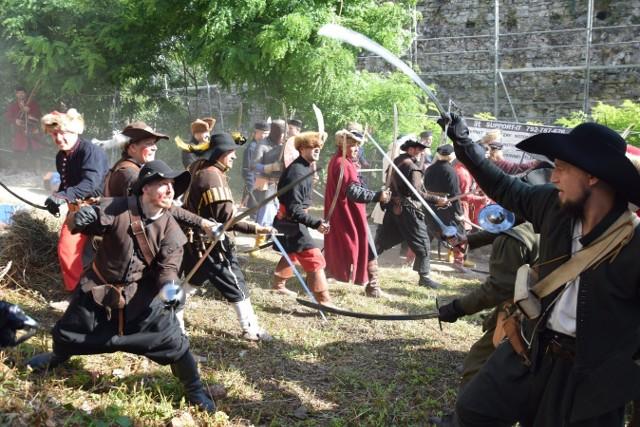 Obrona Tenczyna - rekonstrukcje bitwy z 1655 roku