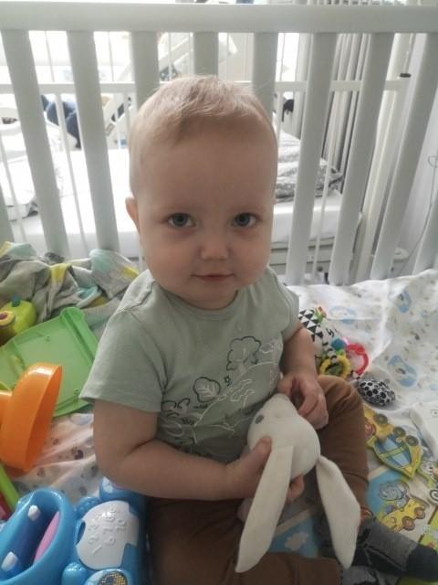 Klemens na 15 miesięcy. Mały wojownik walczy o życie....