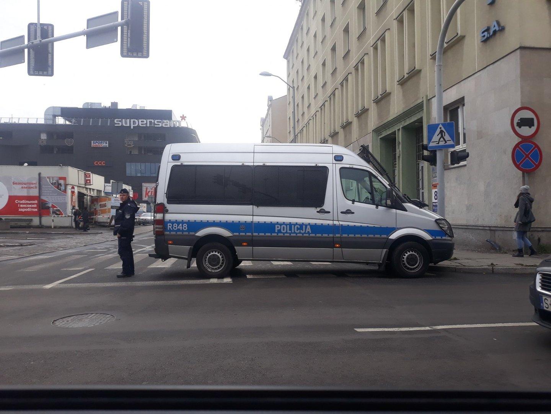 Alarm bombowy w Katowicach. Ewakuowano dworzec PKS. Wyłączona z ruchu jest ulica Piotra Skargi