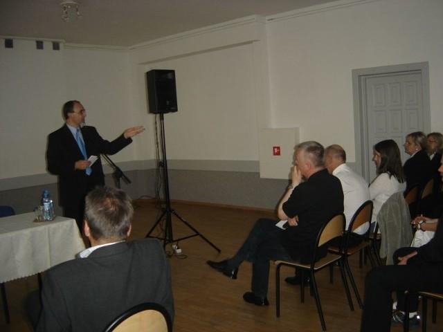 W ubiegłą środę burmistrz Roman Czepe spotkał się z mieszkańcami Łap. Frekwencja nie była zbyt wysoka.