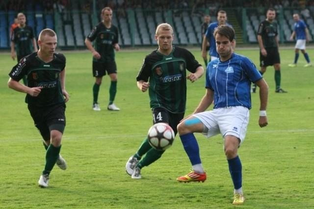 Tomasz Persona tu jeszcze w barwach Stali Rzeszów. Dziś zagra przeciwko byłym kolegom jako Siarkowiec.