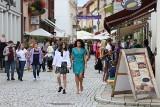 Sandomierz pełen turystów w ostatni weekend wakacji. Zobacz, jak spędzali słoneczną sobotę [ZDJĘCIA]