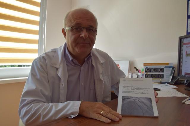 Prof. Jarosław Hiczkiewicz, kierownik działu kardiologii w Wielospecjalistycznym Szpitalu SP ZOZ w Nowej Soli
