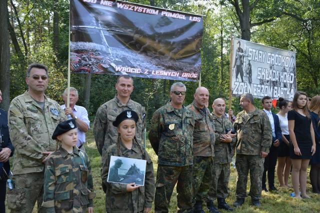 Mieszkańcy Starego Grodkowa opiekują się miejscem pamięci, gdzie wymordowano skrytobójczo antykomunistycznych partyzantów.