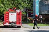 Pożar w zakładzie Clipper w Robakowie. Ewakuowano 259 pracowników