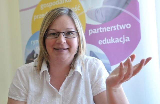 Anita Czajkowska, właściciel biura rachunkowego
