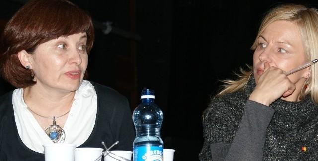 Beata Maciejewska i Małgorzata Tkacz-Janik przekonywały do poparcia prawa wyboru