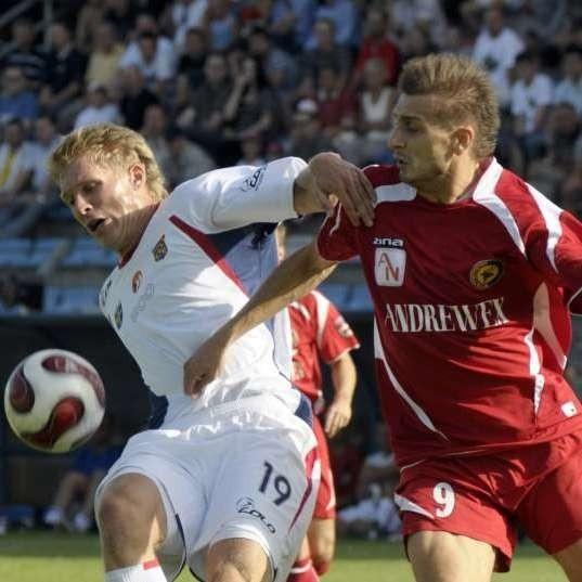 Piłkarze Odry Opolenie zaimponowali w niedzielnym spotkaniu.
