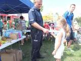 400 dzieci bawiło się na policyjnym pikniku na osiedlu Armii Krajowej w Opolu