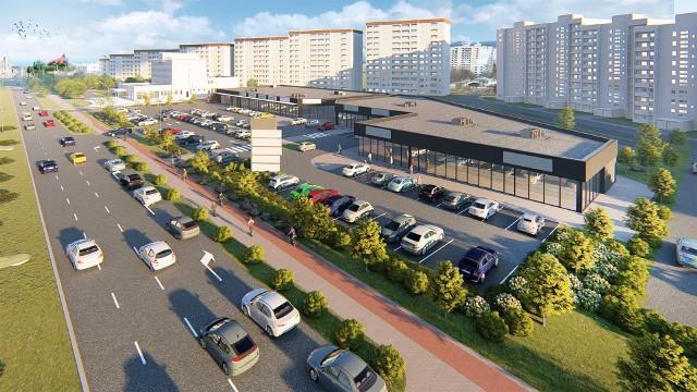 Zaspa dorobi się nowego parku handlowego i osiedlowego parkingu