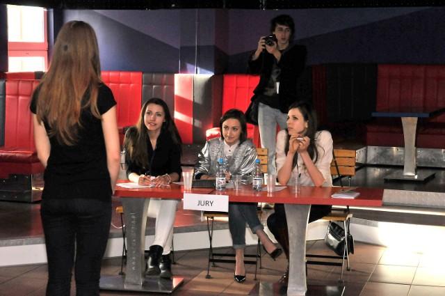 """Casting odbył się w klubie studenckim """"Kreślarnia""""."""