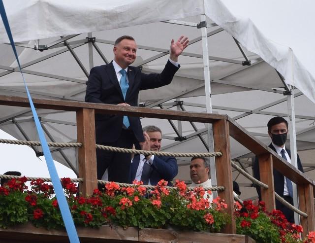 Dożynki jasnogórskie 2020 z udziałem prezydenta Andrzeja DudyZobacz kolejne zdjęcia. Przesuwaj zdjęcia w prawo - naciśnij strzałkę lub przycisk NASTĘPNE