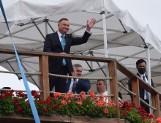 """Dożynki jasnogórskie 2020. Prezydent Andrzej Duda podziękował rolnikom. """"Jedzenia nie zabrakło. Bóg zapłać"""""""