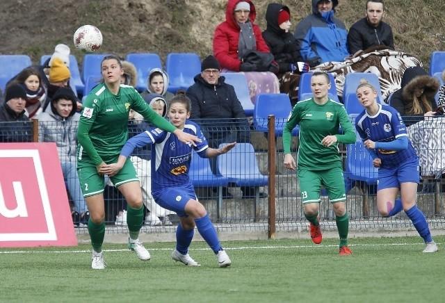 Zielono-czarne swój ostatni mecz rozegrały 29 lutego w Łodzi