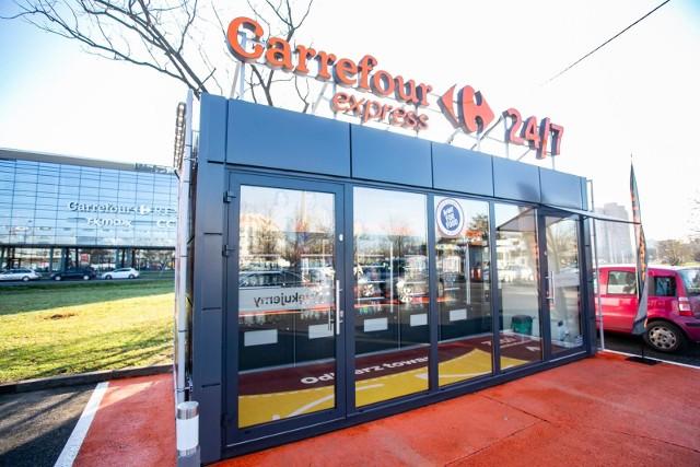 Carrefour uruchomił usługę, która pozwala sprawdzić ruch w sklepie.