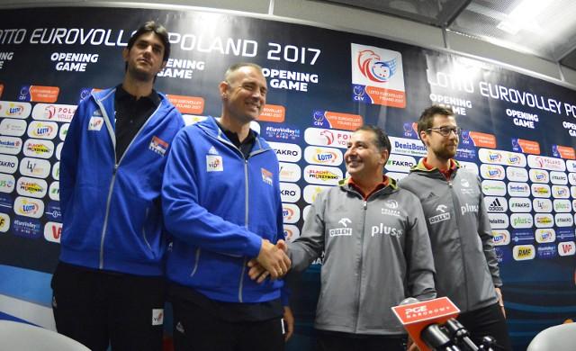 Siatkarze i PGE Narodowy są gotowi do rozpoczęcia mistrzostw Europy.