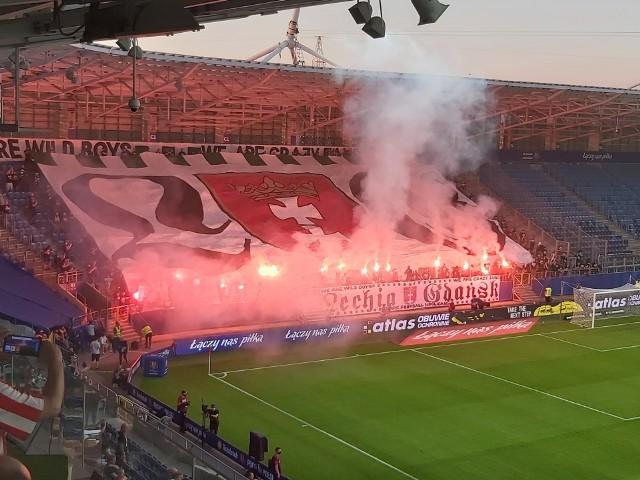 Kibice na finale Cracovia - Lechia