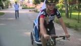 600 km w 12 dni. Samotna matka rusza na wyjątkową wycieczkę rowerową z 3-letnim synkiem