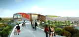 Ikea Zabrze: podziemny parking, estakada dla pieszych, drogi i ogrody NOWE WIZUALIZACJE