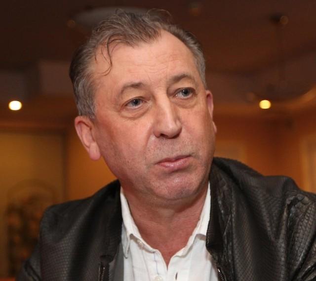 Ryszard Ziarko jest prezesem firmy Ciarko i jednym z głównych sponsorów sanockiego hokeja.