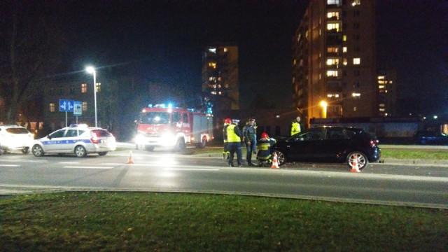 Piła: Pijany kierowca spowodował wypadek