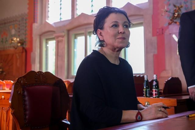 Pierwsza po Noblu książka Tokarczuk już w listopadzie nakładem krakowskiego Wydawnictwa Literackiego