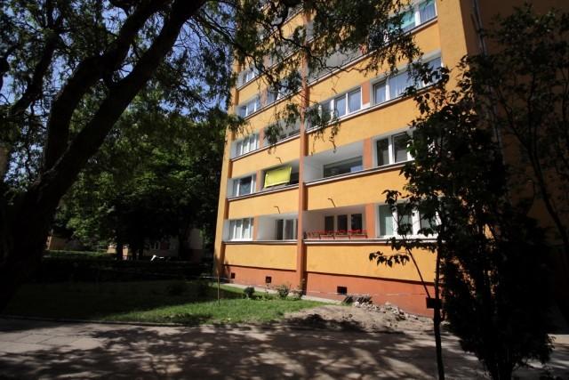 Mieszkania Gdyni została wypchnięta z balkonu