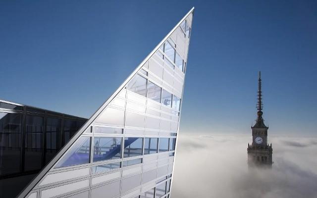 Złota 44. Trzypiętrowy penthouse na szczycie wieżowca sprzedany.Zobacz kolejne zdjęcia. Przesuwaj zdjęcia w prawo - naciśnij strzałkę lub przycisk NASTĘPNE