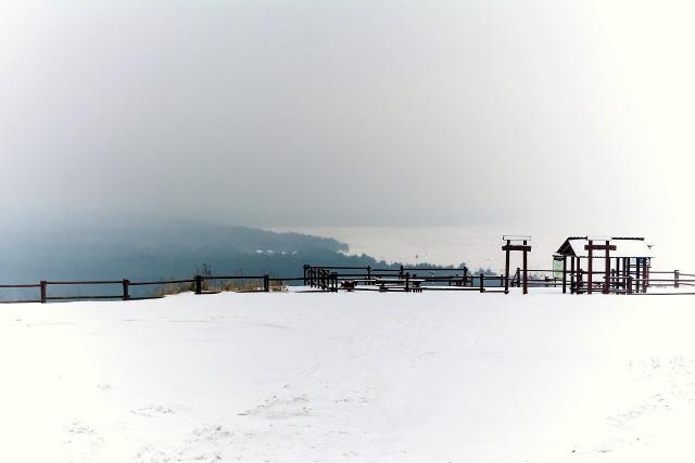 Pustynia Błędowska w zimowej odsłonie