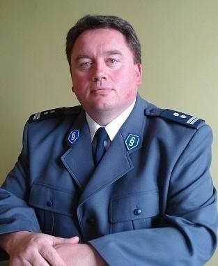 Mirosław Żabiński, komendant policji w Szamotułach