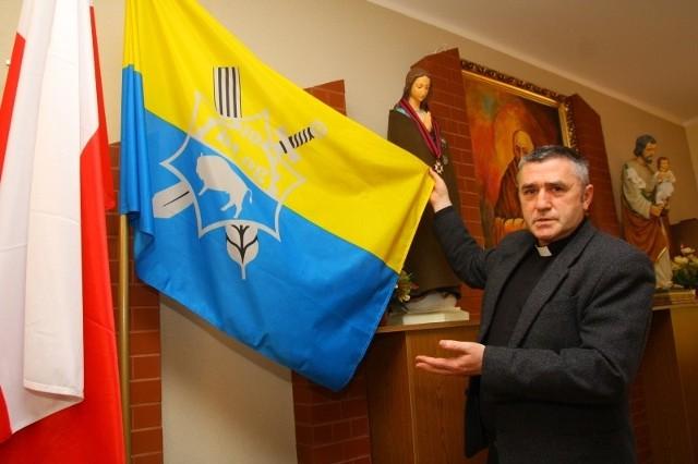 W kaplicy flaga 10. Opolskiej Brygady Logistycznej ma swoje stałe miejsce blisko ołtarza - mówi ks. mjr Henryk Kaczmarek.