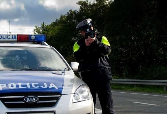 O 125 km/h przekroczył dozwoloną prędkość 32-letni mieszkaniec powiatu oleskiego.