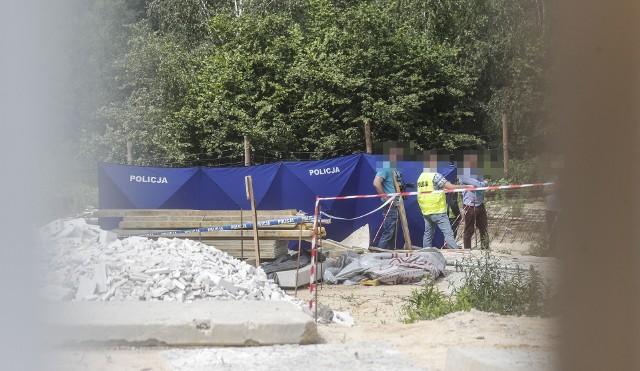 Tragiczny wypadek na budowie w Rzeszowie, nie żyje dwóch mężczyzn.