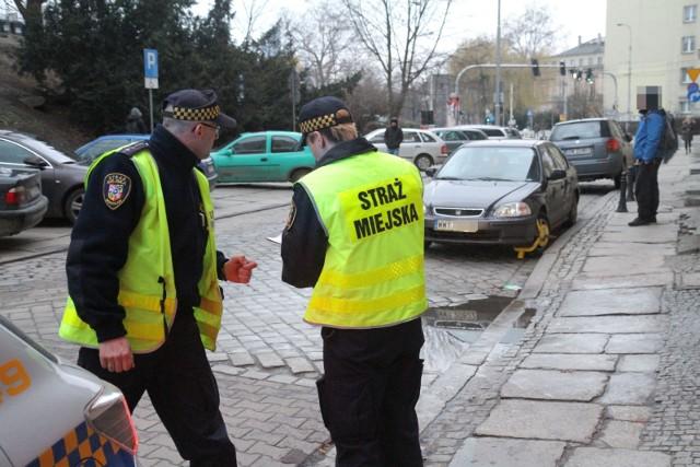 Kontrole parkowania we Wrocławiu