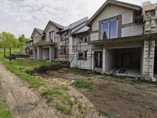 Trwa budowa nowego osiedla Balaton w Trzebini