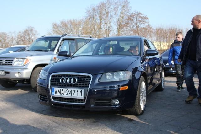 Audi A3, 2005 r., 2,0 TFSI, ABS, centralny zamek, elektryczne szyby i lusterka, komputer pokładowy, immobiliser, tempomat, 23 tys. 500 zł;