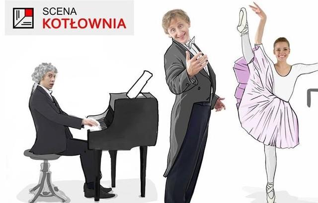 Czesław Jakubiec z kabaretem Tenor wystąpią w teatrze Scena Kotłownia