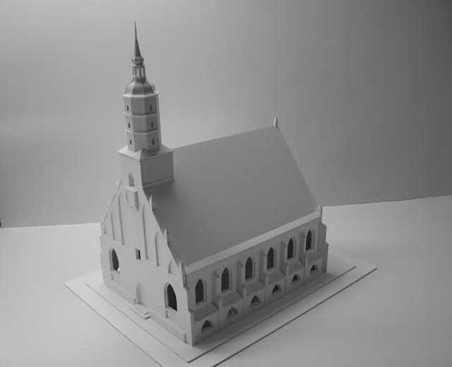 Odsłonięcie makiety kościoła św. Mikołaja rozpocznie się o godz. 17 przy budynku Ratusza Staromiejskiego