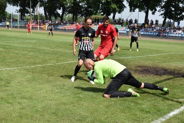 Tęcza Krosno Odrzańskie vs Carina Gubin w ostatniej kolejce IV ligi lubuskiej w sezonie 2018/2019.