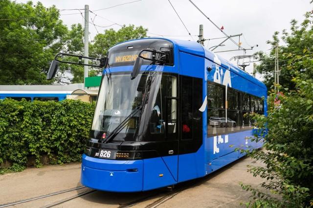 Tramwaje Lajkoniki teraz zaczną także jeździć do Nowej Huty na linii nr 14.