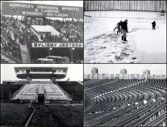 Jak wyglądały dolnośląskie stadiony w poprzednim...