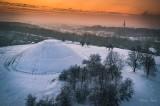 Zachwycający zimowy Kraków z lotu ptaka [ZDJĘCIA]