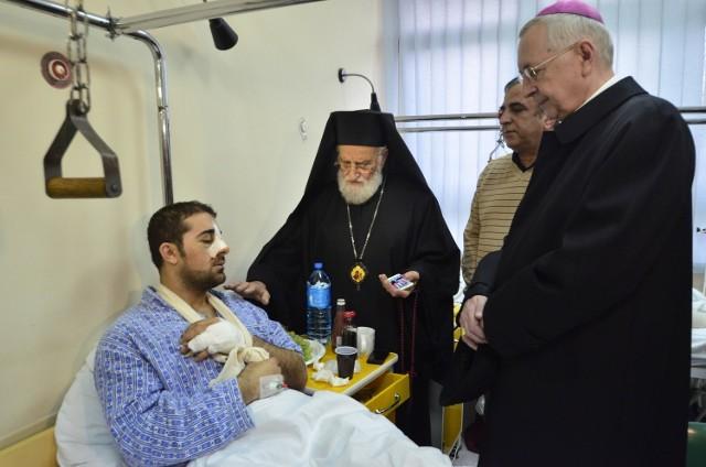 Patriarcha Syrii Grzegorz III Laham odwiedził w ubiegłą sobotę Georga Mamlooka w szpitalu. Apelował o szacunek i zrozumienie dla imigrantów uciekających z krajów ogarniętych wojną